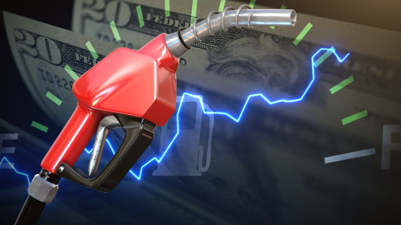 Gasoline prices in Mercer rise above $3