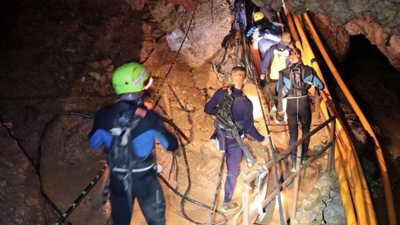 thai cave rescue operation - photo #20