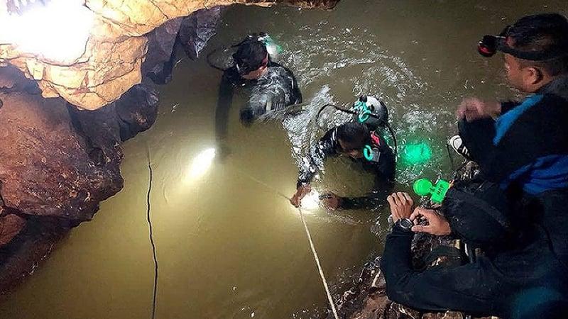 thai cave rescue operation - photo #32